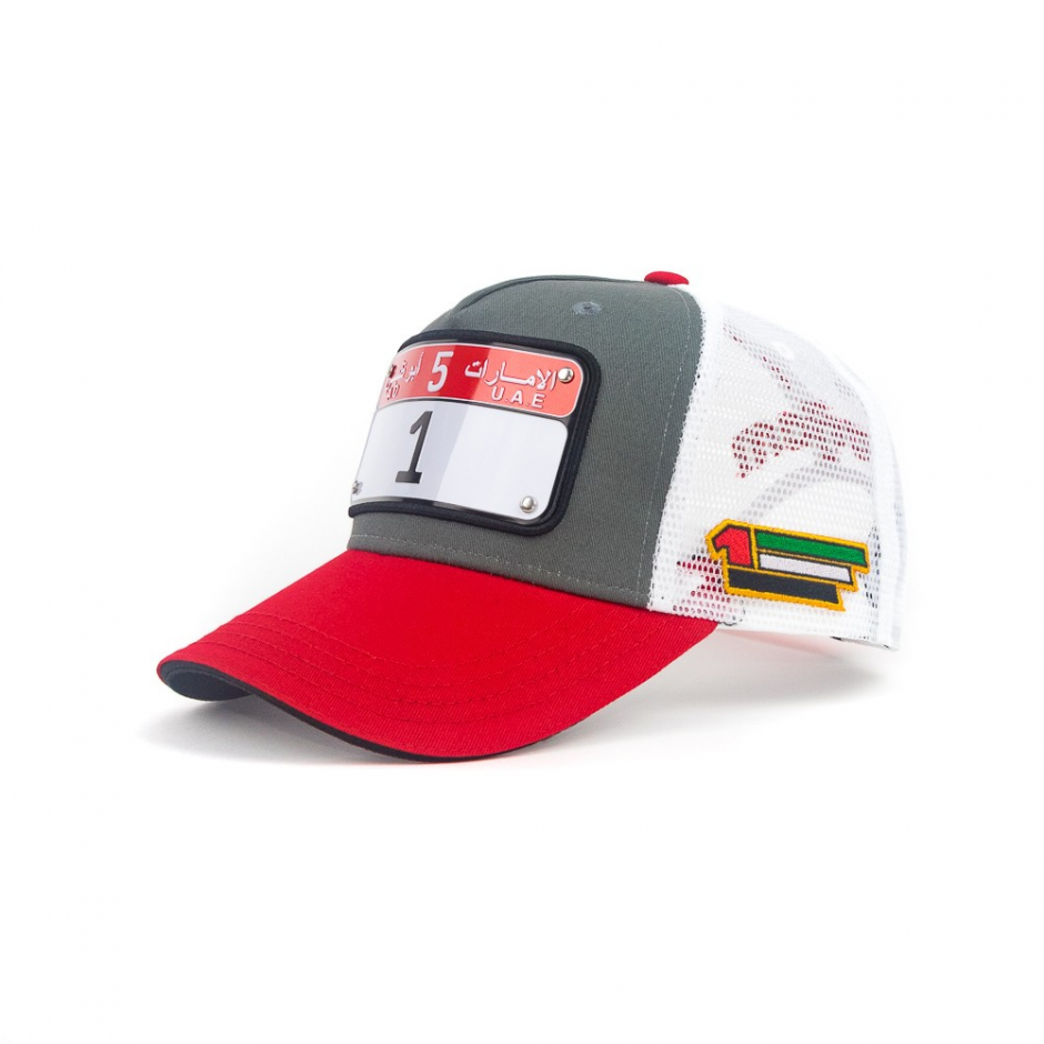 Abu Dhabi cap model 2 number 1