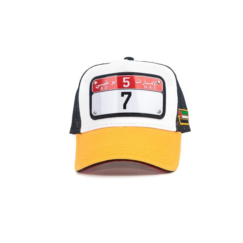 Abu Dhabi cap model 4 number 7